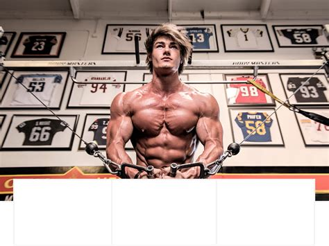 1 Story Home Plans by Jeff Seid Bodybuilder Amp Fitness Model