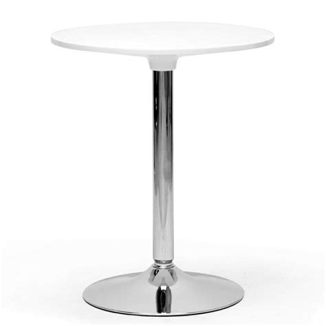 Modern Bistro Table Ji Small White Modern Bistro Table