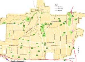 city of fullerton map of parks trails static