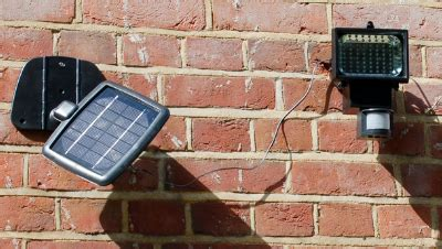 Energy Saving Gadget Solar Powered Security Light Joe Ie Evo56 Solar Security Light
