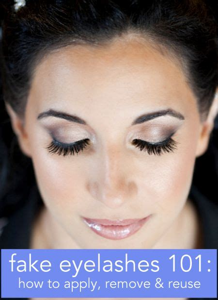 How To Wear False Eyelashes by Eyelashes 101 Everything You Need To About