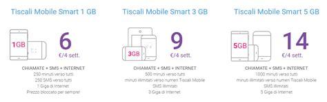 rete mobile tiscali tiscali mobile rimodula le offerte smart a 28 giorni rete