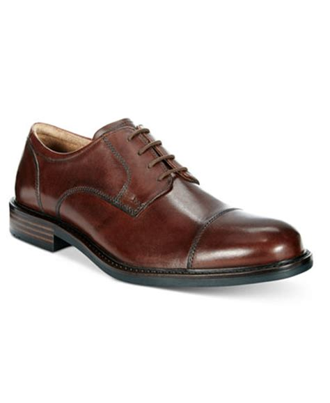 Johnston And Murphy E Gift Card - johnston murphy men s tabor cap toe oxfords all men s shoes men macy s