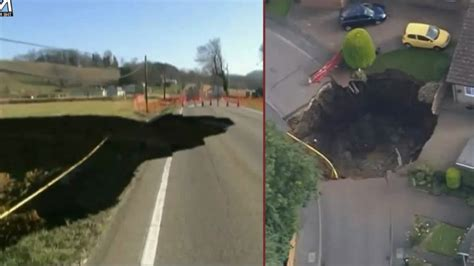 Sink Holes Usa by Top 6 Disaster Sinkholes In The Usa