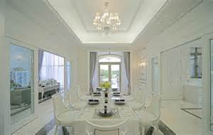 Minimalist Dining Room by European Style Villa Minimalist Dining Room Interior