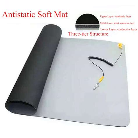 Anti Static Computer Mats by Portable Anti Static Mat Ground Wire Esd Wrist For Mobile