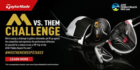 Golf Equipment Sweepstakes - enter the taylormade m vs them sweepstakes haggin oaks