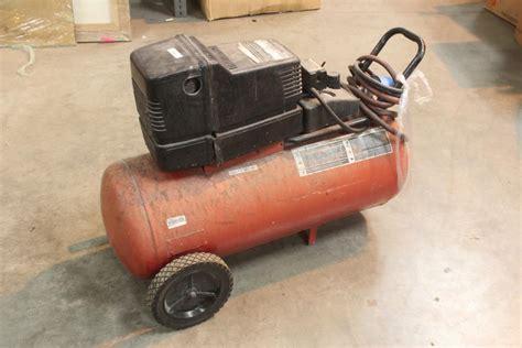 sears craftsman hp  gallon air compressor model  property room
