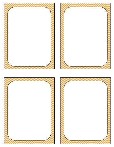 flash cards blank template 6 best images of ten free printable flash cards template