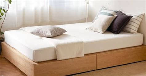 muji bedding muji bedframe and mattress don t forget to keep your