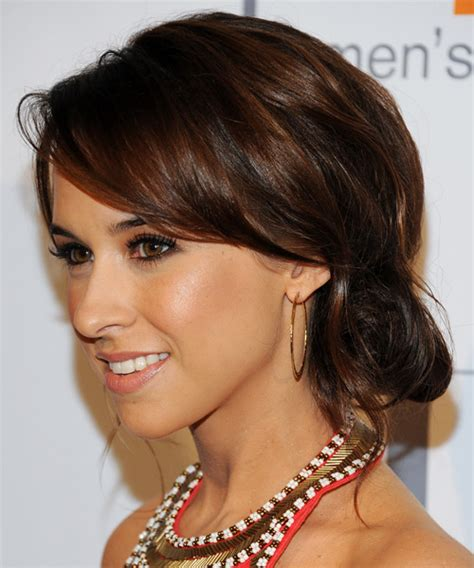 side bangs with bun elegant side bun hairstyle ideas new hairstyles 2017 for