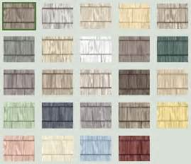 Vinyl Cedar Shake Siding Colors Vinyl Shakes By The Foundry