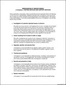 software service level agreement template service level agreement template software template