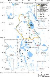 concentrations of total dissolved solids in groundwater