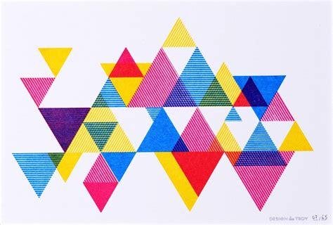process color triangles process color triangle print 20