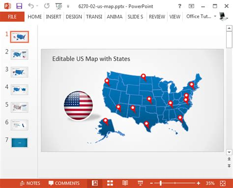 How To Insert Maps From Google Maps In Powerpoint Word Excel Powerpoint Us Map Template Free