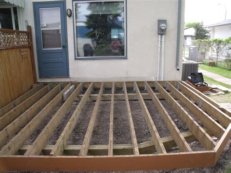 How To Build A Deck by Diy Customer Builds Low Deck Like A Pro On Postech