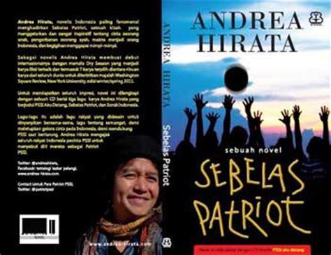 Lu Belakang Hs 55015 novel baru andrea hirata quot sebelas patriot quot pai umy