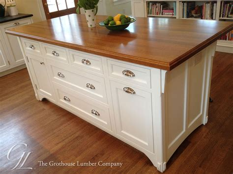 Countertops For Oak Cabinets by White Oak Countertops Wood Countertop Butcherblock And