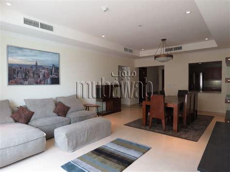 bedroom apartment  rent  pearl qatar mubawab