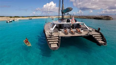 catamaran in spanish translation catamaran wonderful sint maarten youtube
