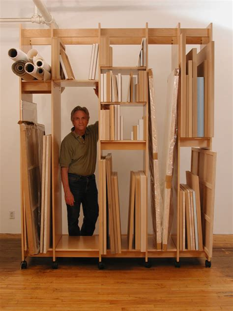 Artwork Storage Rack by Studio Storage On