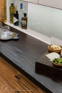 Kitchen Laminate Design Wenge Wood Counter With Hand Planed Distressing In Ma