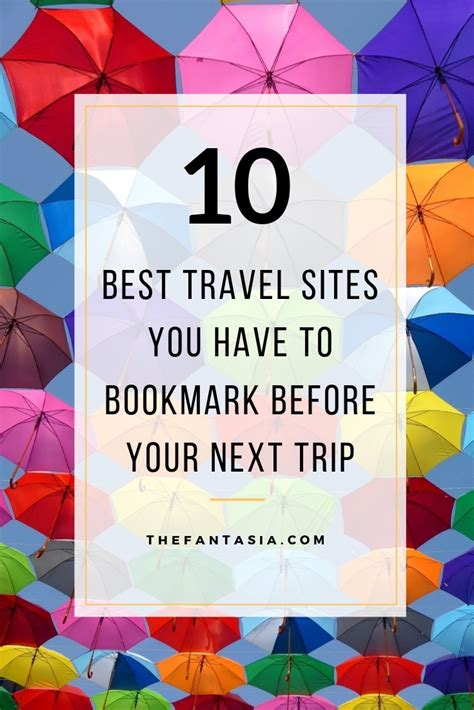 Travel Resources For Planning Your Next Trip by 10 Travel Websites You Need To Visit Before Your Next Trip