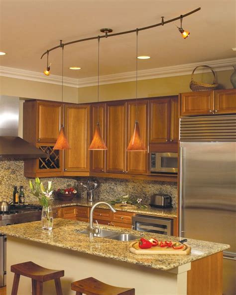 modern kitchen light best 25 pendant track lighting ideas on track