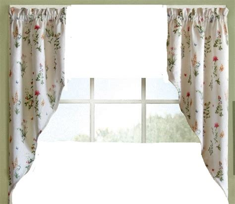 english curtains english garden kitchen curtain swag pr linens4less com
