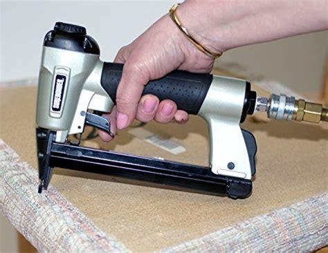 best staple size for upholstery surebonder 9600a heavy duty staple gun with case hand
