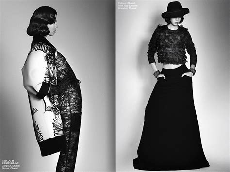 Is In Fashion Editorials Fashionable by Black Magic Fashion Editorial By Fred Goudon