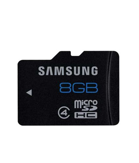 Micro Sd V 4 Gb samsung 8 gb micro sd card class 4 buy samsung 8 gb micro sd card class 4 at best