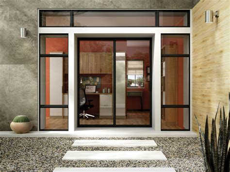 aluminum patio doors window patio door photo gallery milgard