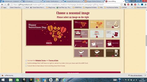 Check Costa Gift Card Balance - costa coffee gift cards a mother s day gift to perk her up mother distracted