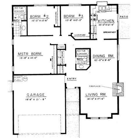 Three Bedroom Bungalow House Plans by 3 Bedroom Bungalow Floor Plans 3 Bedroom Bungalow Design