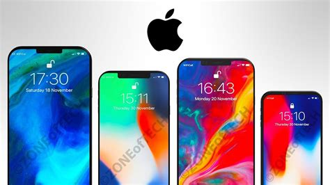 new iphones 2018 the 4 new iphones for 2018
