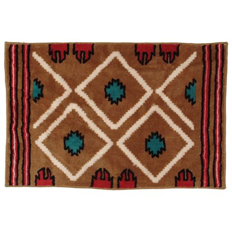 Bathroom Rugs And Accessories Southwestern Bathroom Rugs Goenoeng