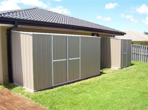 skillionflat roof sheds  garden sheds