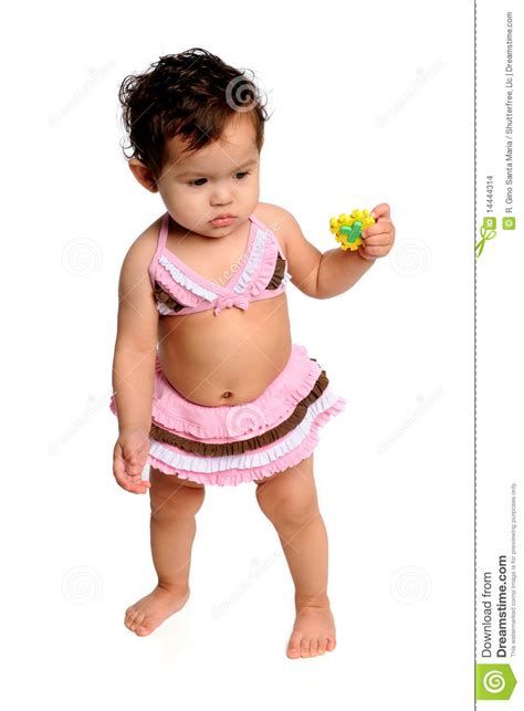 young girl with bathing suit stock photo young girl with bathing suit stock images image 14444314