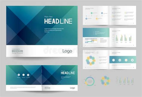 company profile page layout business brochure design template and page layout for