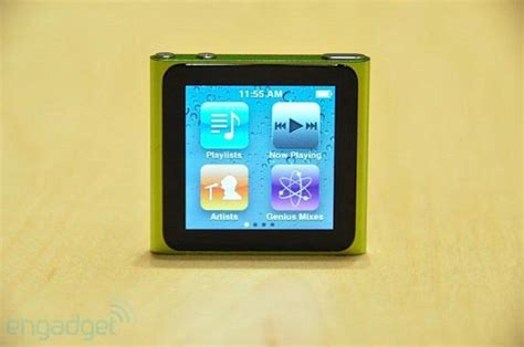 Ipod Nano Multi Touch technology products the new ipod nano with multi touch