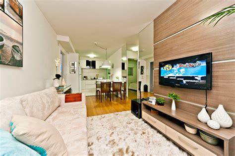 apartamentos decorados de 45m2 truques de decora 231 227 o para apartamentos de at 233 60 m