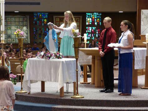 St Emily st emily school may crowning st emily catholic church