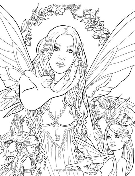 mystical elf coloring pages 166 b 228 sta bilderna om coloring pages fantasy p 229