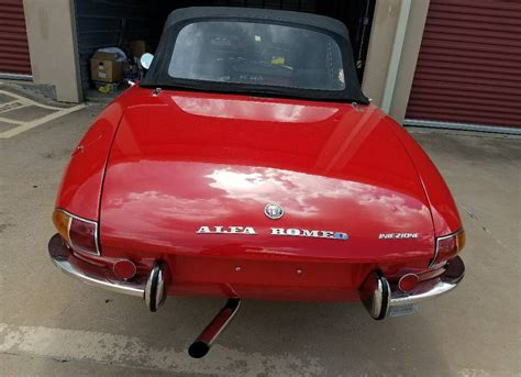 old boat tail cars 1969 alfa romeo boat tail spider found in los angeles