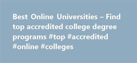 accredited online college online degree programs tenarkan