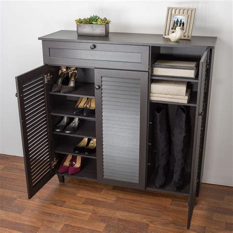 shoe cabinet storage for your shoe storage closet storage organization the home depot