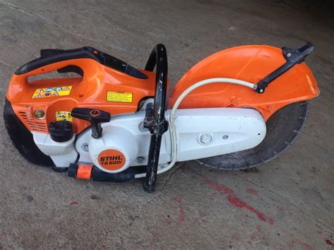 Stihl TS 500i Fuel Injection 14 inch Concrete or Hot saw   Nex Tech Classifieds