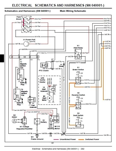 wiring diagram for a deere 318 28 images deere wiring